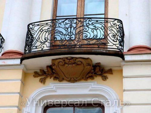 Кованый балкон №87 — фото