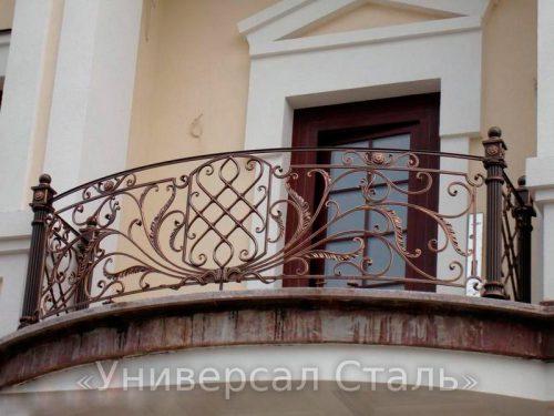 Кованый балкон №88 — фото