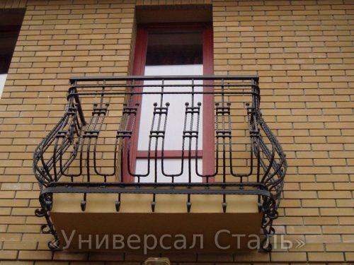 Кованый балкон №9 — фото