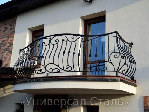 Кованый балкон №90 — фото