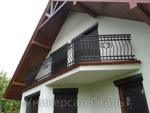 Кованый балкон №94 — фото