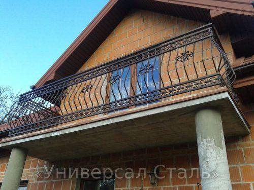 Кованый балкон №95 — фото