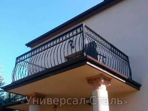 Кованый балкон №96 — фото