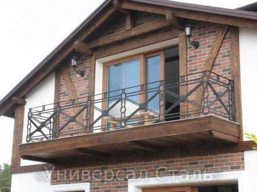 Кованый балкон №98 — фото