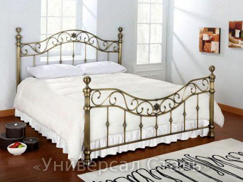 Кованая кровать №10 — фото