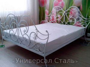Кованая кровать №100 - фото 1