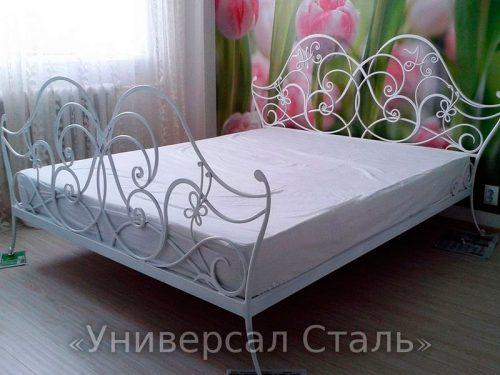 Кованая кровать №100 — фото