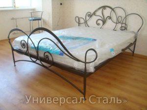 Кованая кровать №101 - фото 1