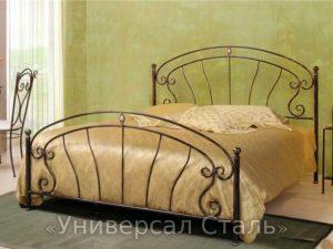 Кованая кровать №104 - фото 1