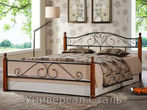 Кованая кровать №108 — фото