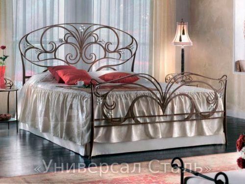Кованая кровать №11 — фото