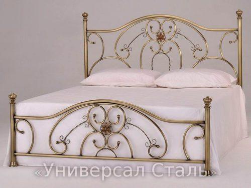 Кованая кровать №111 — фото