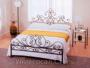 Кованая кровать №113