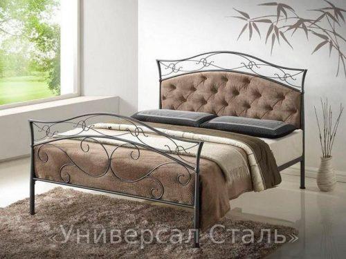 Кованая кровать №115 — фото