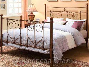 Кованая кровать №117