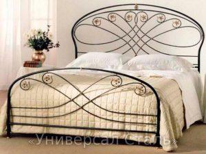 Кованая кровать №119