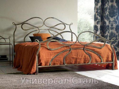 Кованая кровать №12 — фото