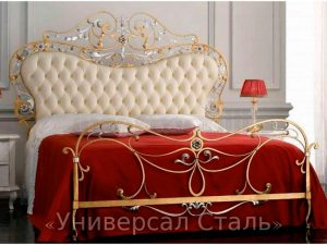 Кованая кровать №121