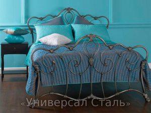 Кованая кровать №122