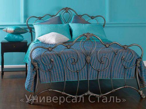 Кованая кровать №122 — фото