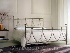 Кованая кровать №123