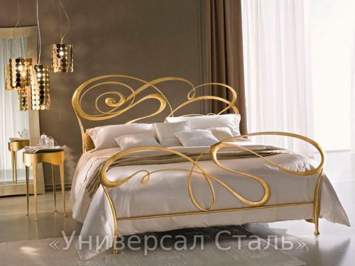 Кованая кровать №13 — фото
