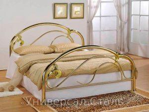 Кованая кровать №14 - фото 1