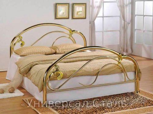 Кованая кровать №14 — фото