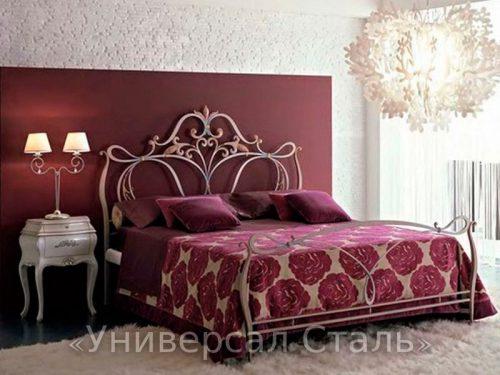 Кованая кровать №15 — фото