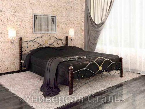 Кованая кровать №16 — фото