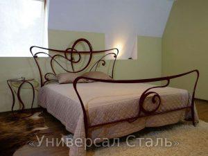 Кованая кровать №17