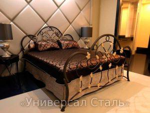 Кованая кровать №18