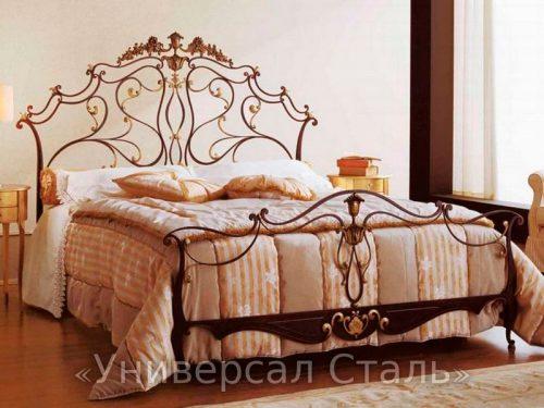 Кованая кровать №19 — фото