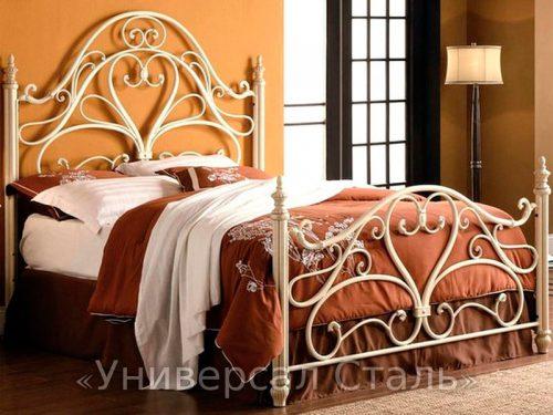 Кованая кровать №2 — фото