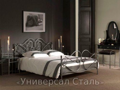 Кованая кровать №20 — фото
