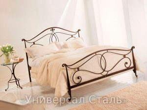 Кованая кровать №21 - фото 1