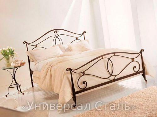 Кованая кровать №21 — фото