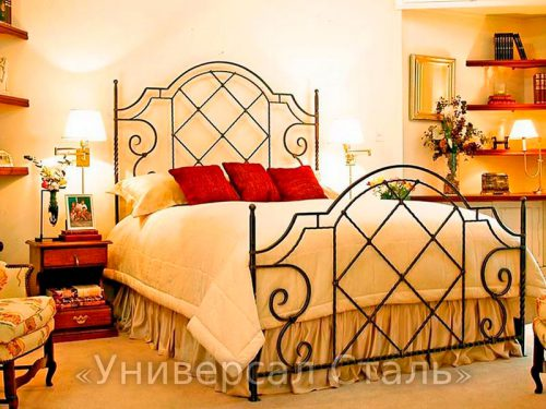 Кованая кровать №22 — фото