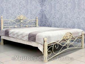 Кованая кровать №23 - фото 1