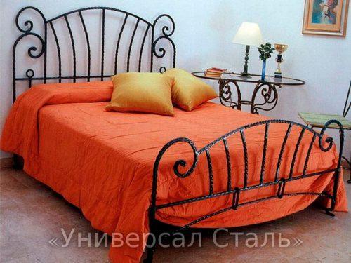 Кованая кровать №25 — фото