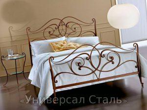 Кованая кровать №26 - фото 1