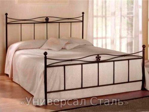Кованая кровать №27 — фото