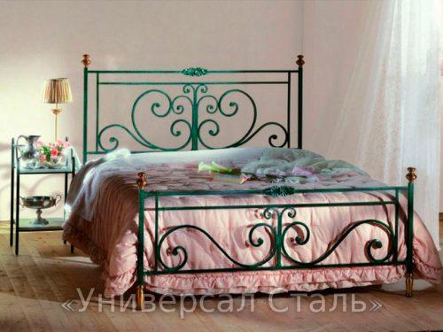 Кованая кровать №28 — фото