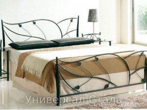 Кованая кровать №29 - фото 1