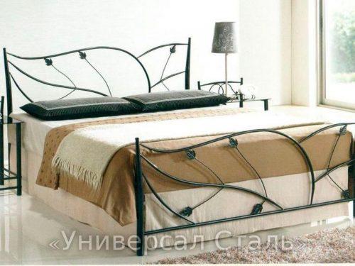 Кованая кровать №29 — фото