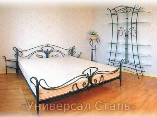 Кованая кровать №30 — фото