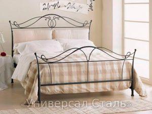 Кованая кровать №35 - фото 1