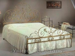 Кованая кровать №36 - фото 1