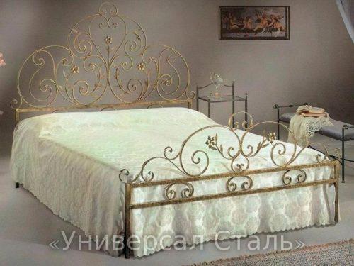 Кованая кровать №36 — фото