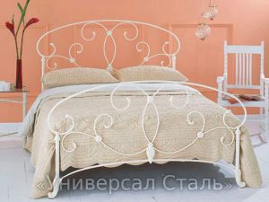 Кованая кровать №37 - фото 1
